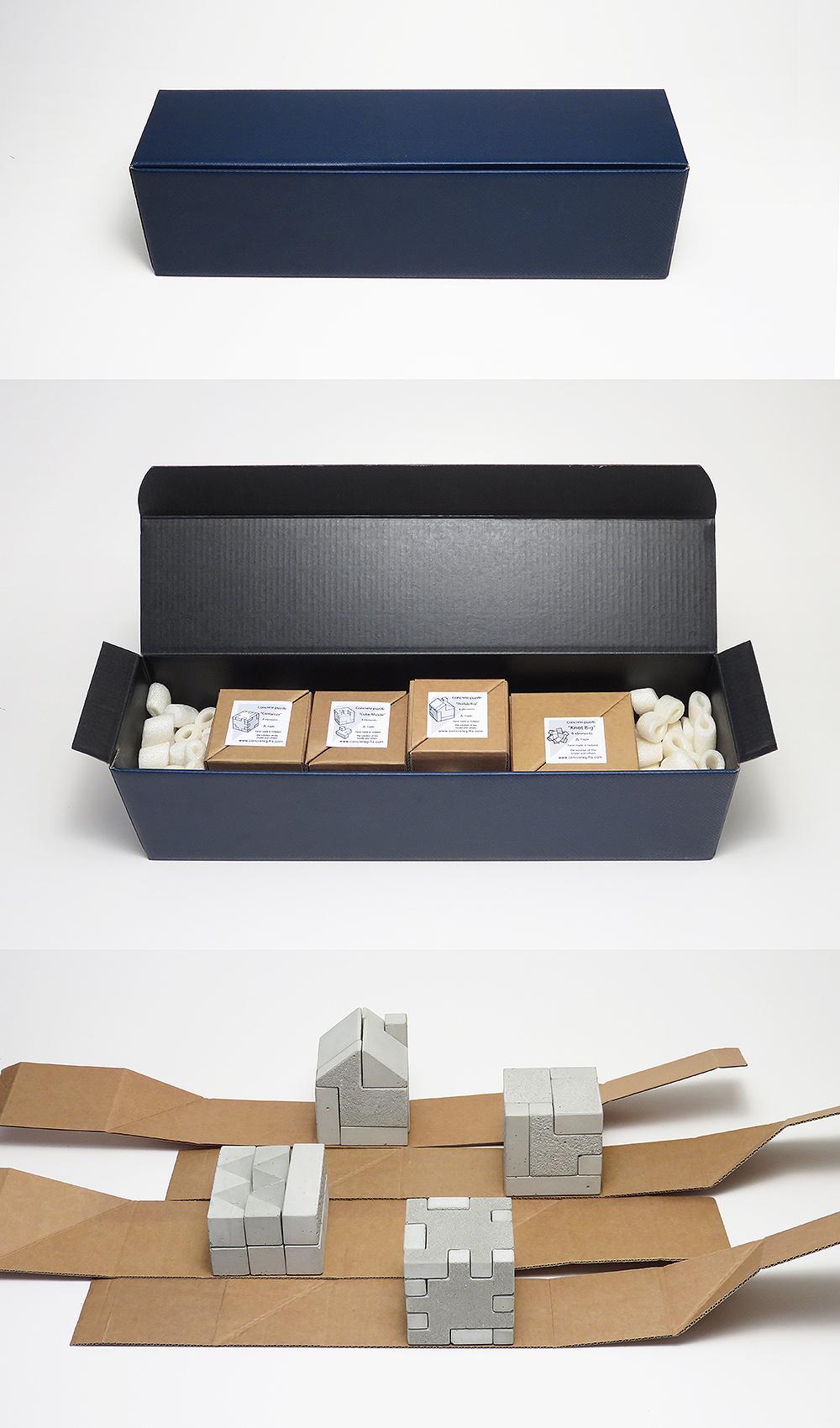 concrete puzzles giftbox