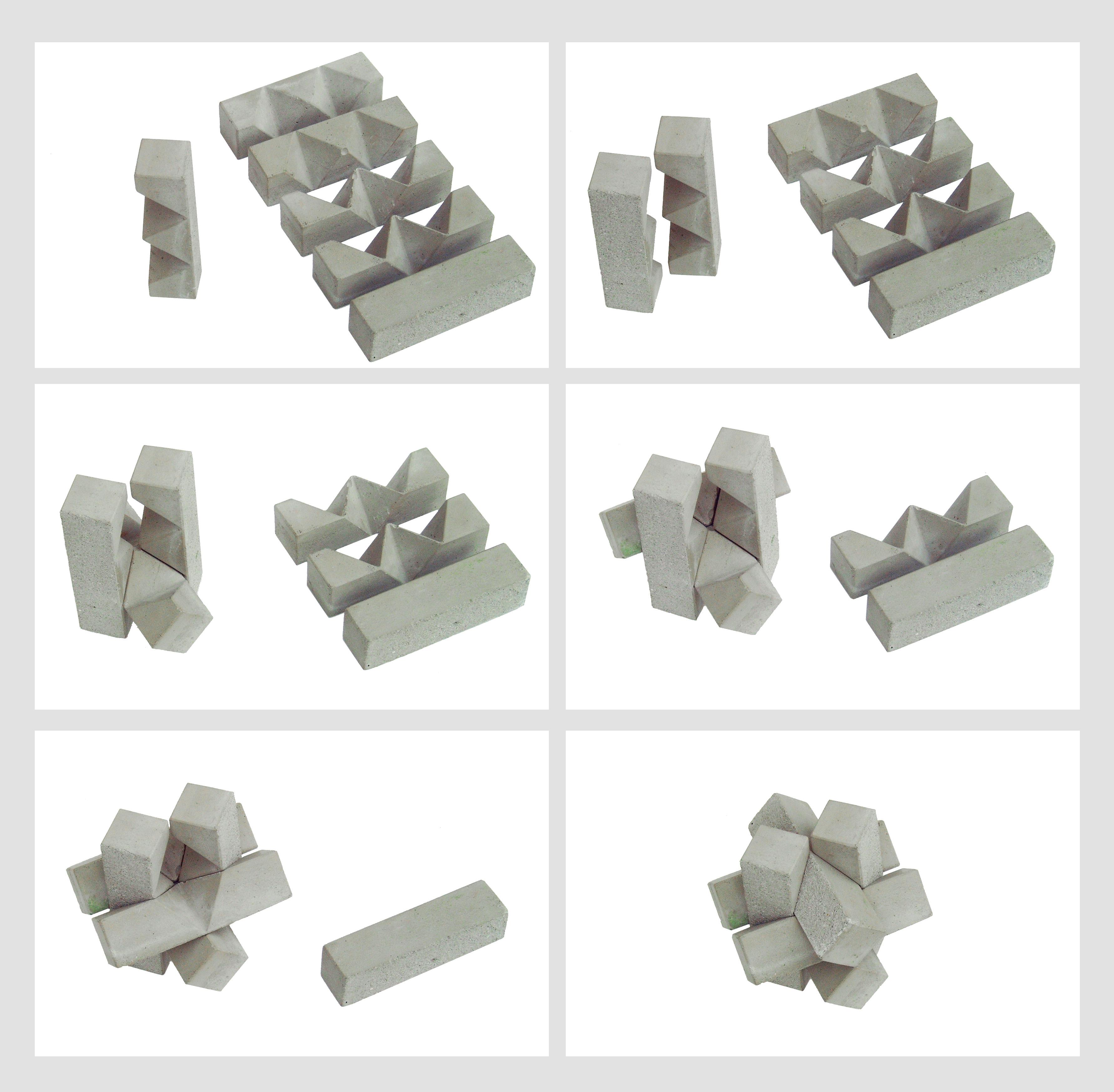 concrete puzzle knot solution