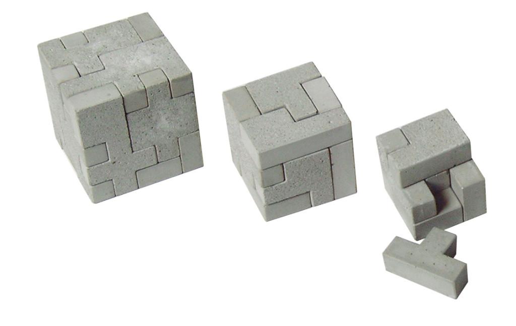 concrete puzzle Cube