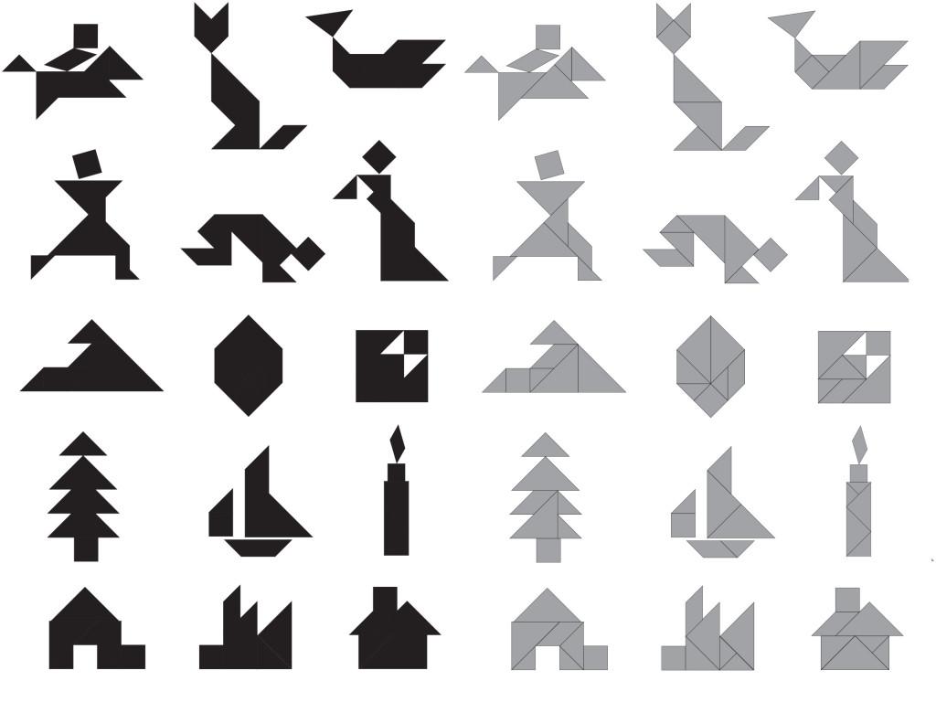 tangram puzzels