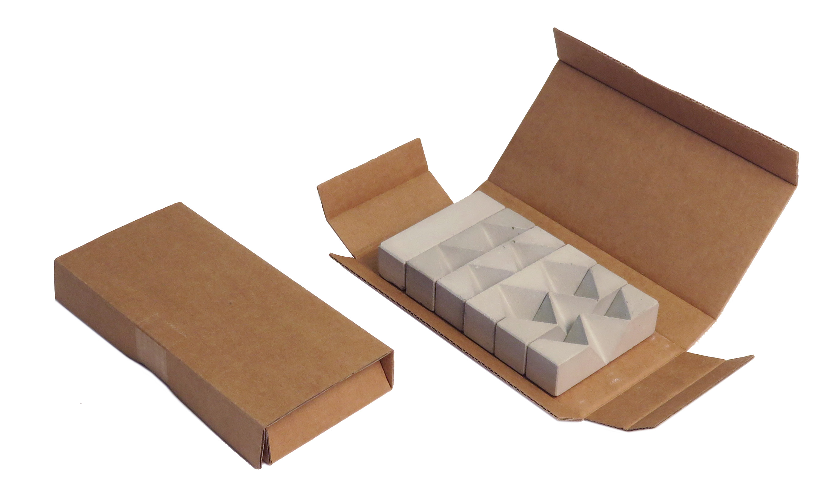 concrete puzzle knot packaging