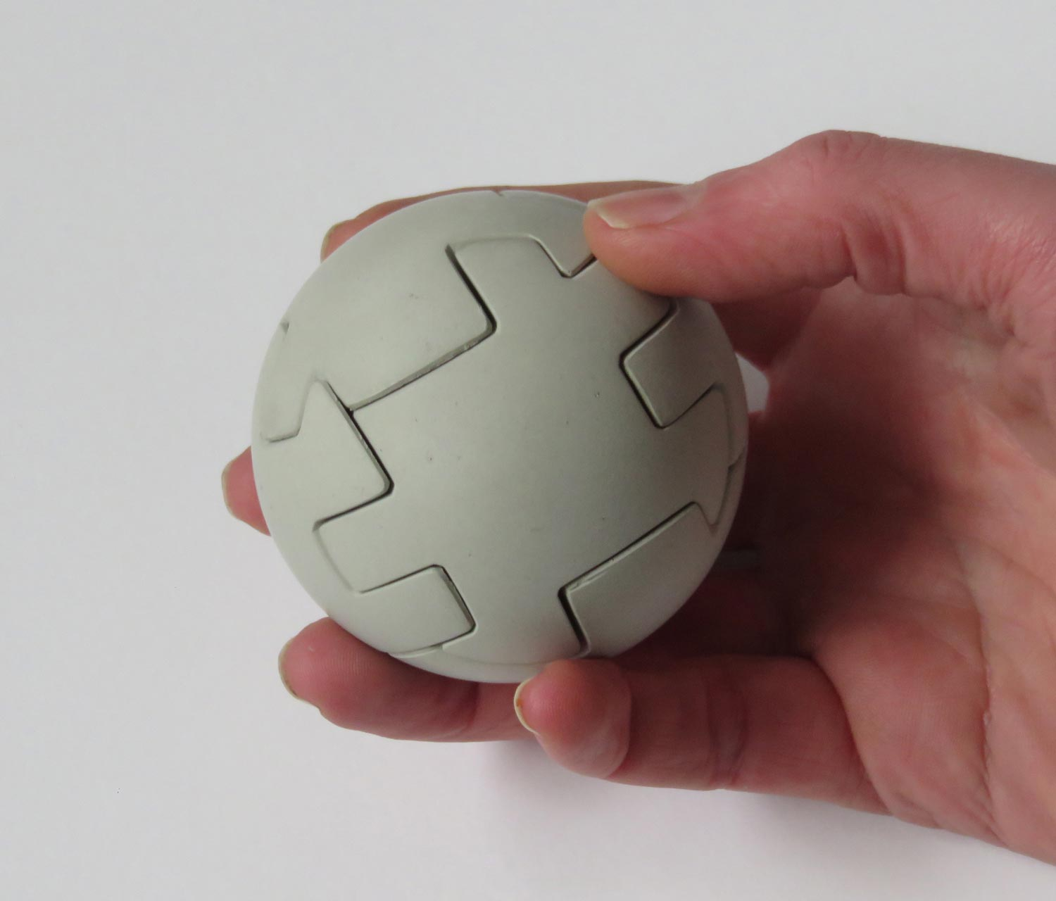 Round ball concrete puzzle business gift